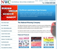 Pembrokeshire based National Weaving are Label specialists
